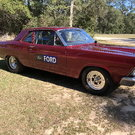 67 Ford Fairlane Drag Car