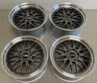 Original BBS LM Le Mans Wheels PORSCHE 997 Turbo C4 4S Targa