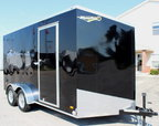"""2020 12"""" Extra 7'x14' Black Screwless Free Options for Sale $6,399"""