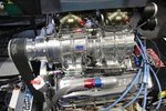 Blown Supercharged Big Block Chevy BBC on Gas Complete Scoop
