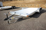 2021 Adam 18ft. Aluminum w/3,500lb. Axles Open Car Trailer
