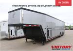 2021 inTech 40' Aluminum Gooseneck Race Trailer (On-Order)