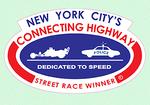 New York City's Connecting Highway Street Winner Decal