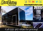 2021 8.5 x 34 Cargo Mate Race Stacker Trailer