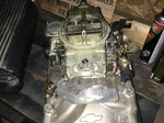 GM Performance BB Intake and Holley 870 Carb