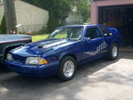 "1989 Ford Mustang ""Blue Thunder"""