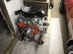 1970 Corvette motor and...