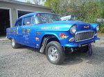 1955 Chevy 150 Gasser Drag Racer