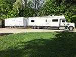 2005 Renegade Motorhome & 2015 United Stacker Combo