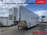 2021 ATC 44' Aluminum GN 3 Car Stacker with Escape Door - Wi