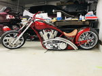 "Independent Cycle Inc. Lowlife Custom Chopper, 147"" Eng"