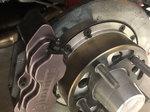 Strange CARBON brakes for Santhuff hub struts