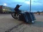 "Custom Harley bagger 26"" wheel"