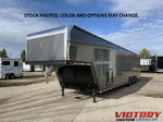2022 inTech 44' Aluminum Gooseneck Race Trailer - Wide Body