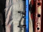 Bosch injectors and fuel rail
