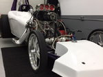 """110""""Alky Funny Race Car Chassie"""