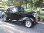 1936 Chevy 5 Window Standard Coupe hot rod street rod