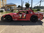 Dirt Track Race Car 355 CI Engine
