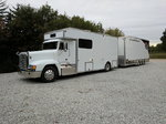 Freightliner Conversion With Fusion Custom Trailer