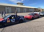 Two winning 1989 MR2 race ready equipment