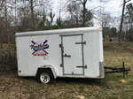 12ft. Lark Enclosed Trailer