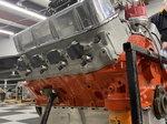 Chevy Big Block Engine; 745 hp; 460 cubic inch