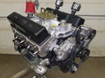 358 CI circle track engine