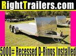 18' ATC All Aluminum Car Hauler w/ Electric Brakes