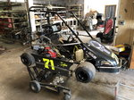 2013 Rage Champ Kart Race Ready with Spare Motor and Parts