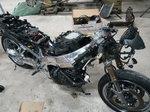 Kawasaki 2001 zx7/9 project