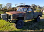 85 Chevy cut v military 1 ton truck 47k original miles. Trad