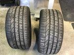 2 Pirelli PZero 265x35x18 tires