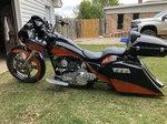 Covington's Customs Big Wheel Bagger Trade for pro str