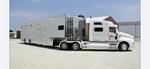 T&E Custom hauler with living quarters