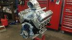 """417"""" SBF Methanol Drag Engine HED built"""