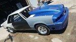 1989 Mustang LX mini tubbed ladder bar chassis