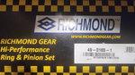Richmond Gear ring &pinion