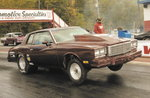 1980 Monte Carlo Certified chassis Drag Week