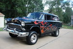 vinatge 1955 sedan delivery pie wagon historic gasser  1980   for sale $39,950