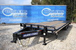 2018 Sure-Trac LP Deckover 8.5 x 25ft Equipment Trailer