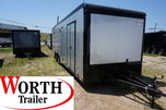 28 ft. Eliminator Super Stock Racer's Pkg Trailer ST# 78674 for Sale $22,250
