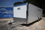 2019 ATC Quest CH205 24ft Enclosed Aluminum Car Trailer