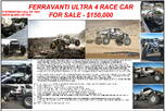 2014 Ultra4 Ferravanti  for sale $150,000