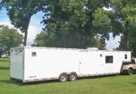 2003 EXISS 40ft Aluminum Trailer Living Quarters  for sale $17,500