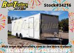 2021 8.5'x24' Bravo Race Trailer  for sale $24,999