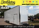 2021 8.5X30 Cargo Mate Race Trailer for Sale
