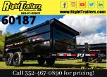 2021 7x14x4 PJ Dump Trailer  for Sale