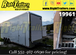 2021 8.5 x 32 Cargo Mate Stacker Trailer for Sale