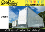 2021 8.5X34 Cargo Mate Racecar Trailer Eliminator