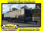 2020 Covered Wagon 8.5x30 7K Spread Axles Back in Black, Sid